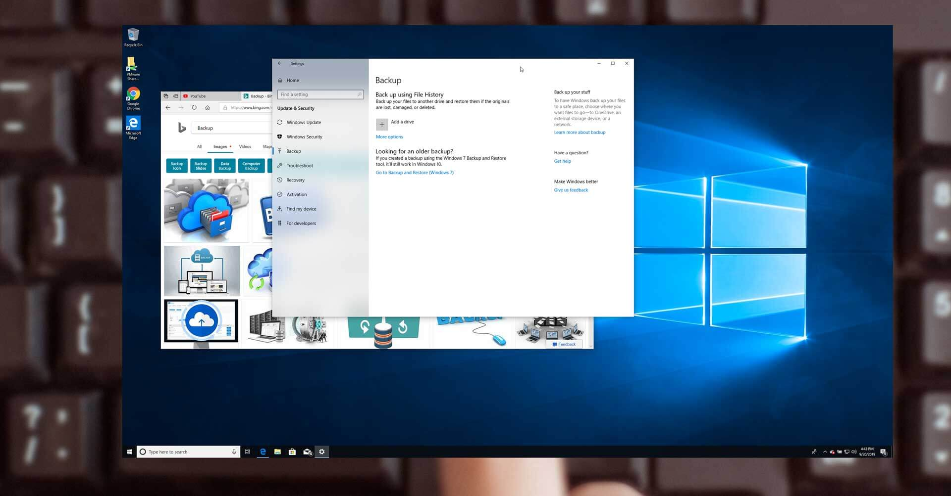 Windows 10 Help: How To Delete Backup Files