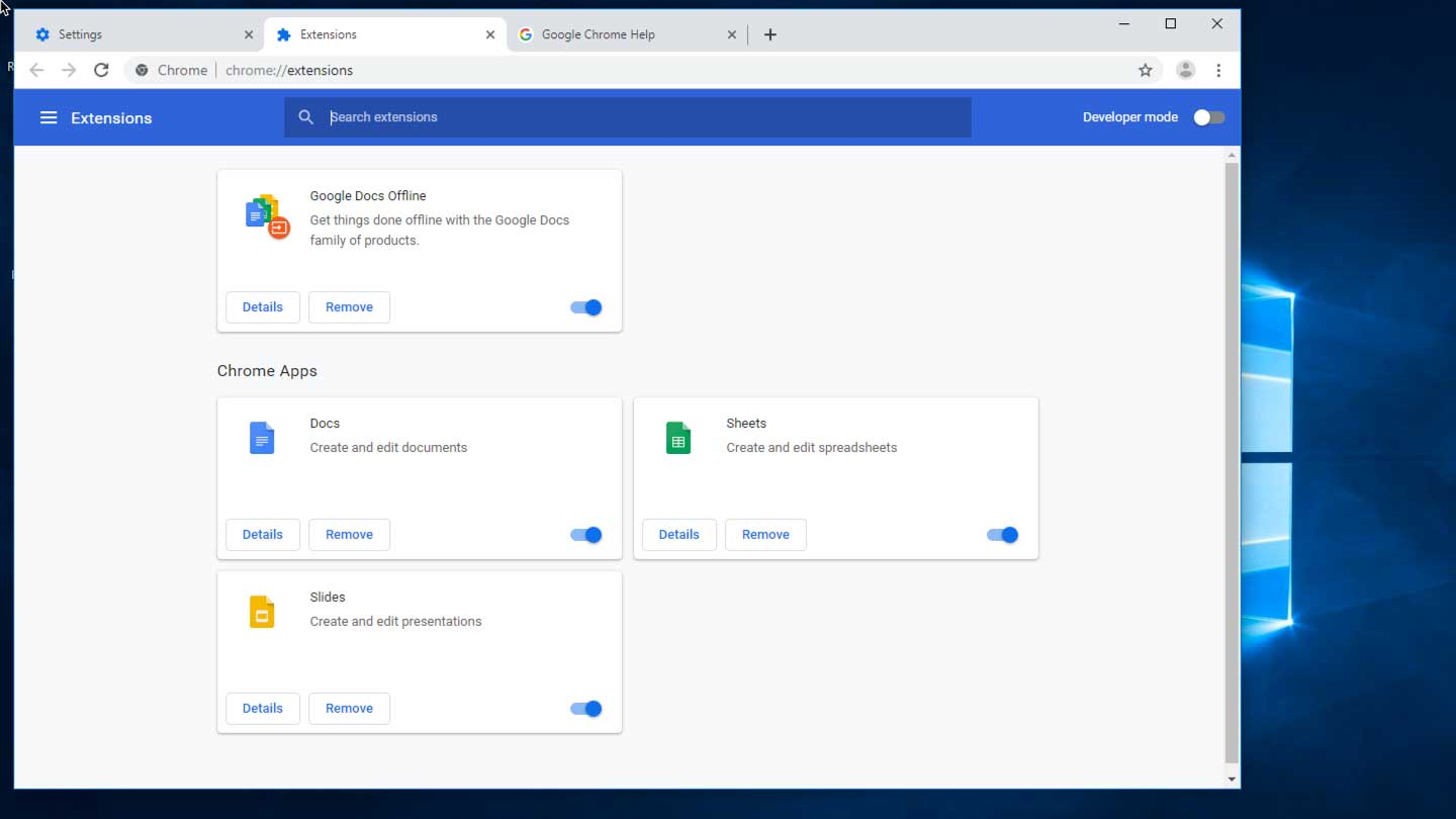 How to access Chrome plugins and extensions